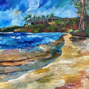 painting of hawaii
